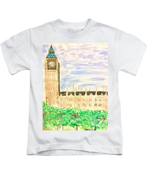 It Went By In A Blur Kids T-Shirt