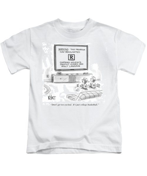 It's Just College Basketball Kids T-Shirt
