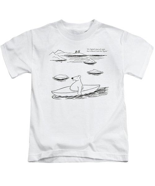 It's Oglub's Boat All Right Kids T-Shirt