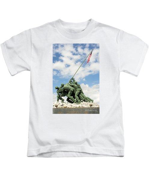 Iwo Jima Monument II Kids T-Shirt