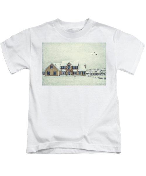 Joyless Trance Of Winter Kids T-Shirt