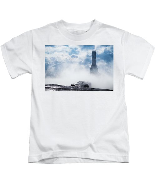 Just Cold And Disappear Kids T-Shirt