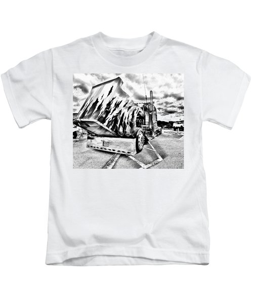 Kenworth Rig Kids T-Shirt