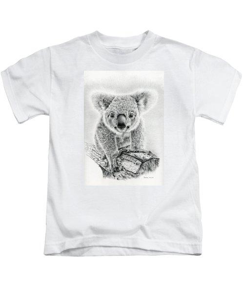 Koala Oxley Twinkles Kids T-Shirt by Remrov