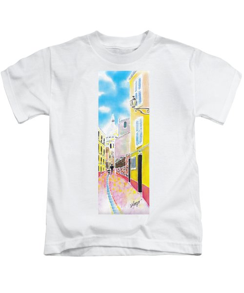 La Butte Montmartre Kids T-Shirt