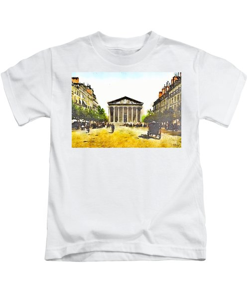 La Madeleine 1890 Kids T-Shirt