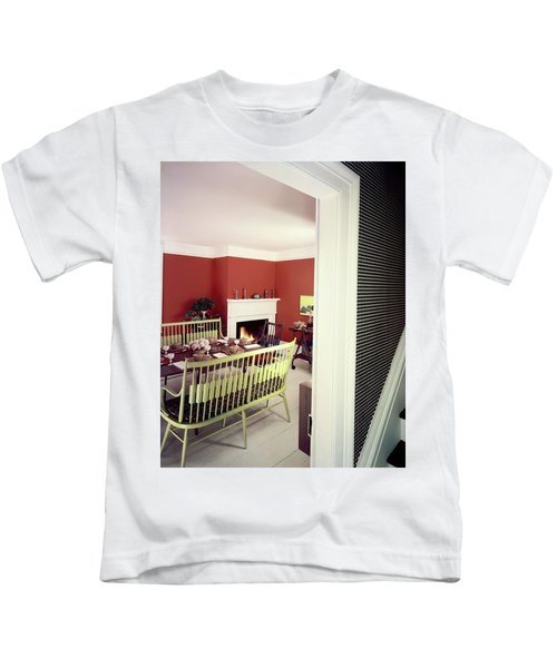 Laurens W. Macfarland's Dining Room Kids T-Shirt