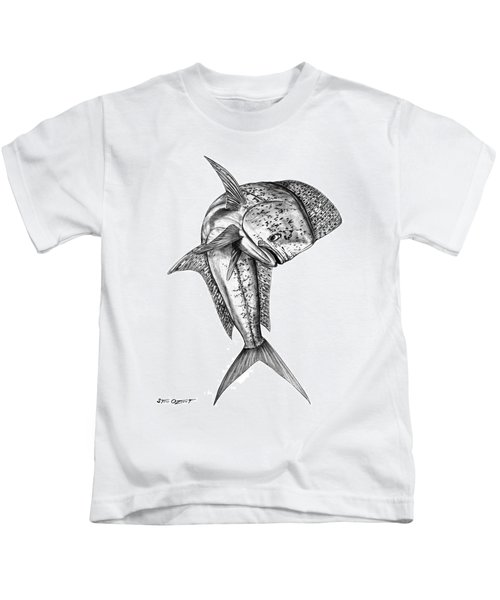 Leaping Dolphin  Kids T-Shirt