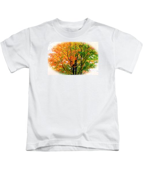 Leaves Changing Colors Kids T-Shirt
