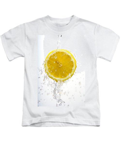 Lemon Splash Kids T-Shirt