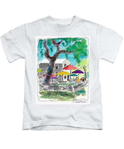 Let's Eat Outside Kids T-Shirt
