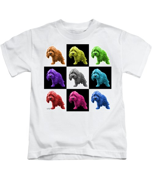 Lhasa Apso Pop Art - 5331 - V2- M Kids T-Shirt