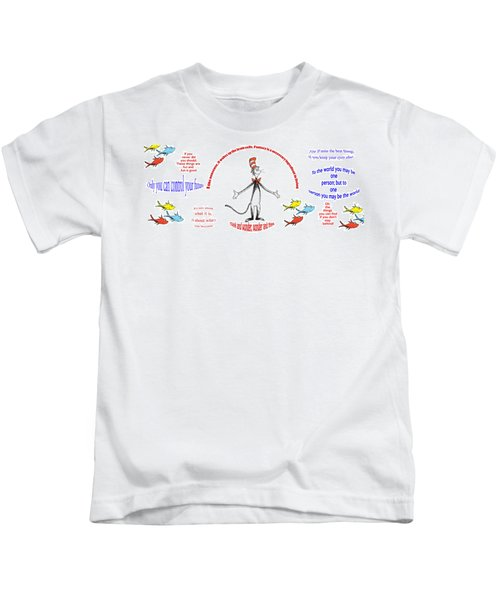 Life Words - Dr Seuss Kids T-Shirt