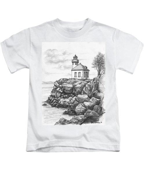 Lime Kiln Lighthouse Kids T-Shirt