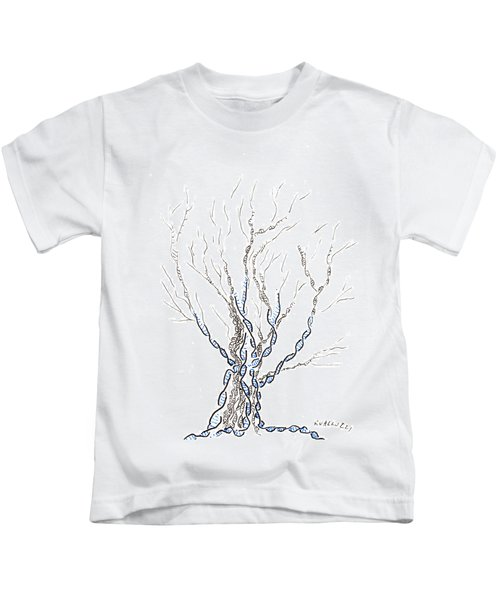 Little Dna Tree Kids T-Shirt