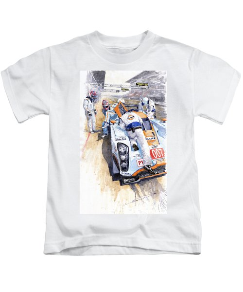 Lola Aston Martin Lmp1 Gulf Team 2009 Kids T-Shirt