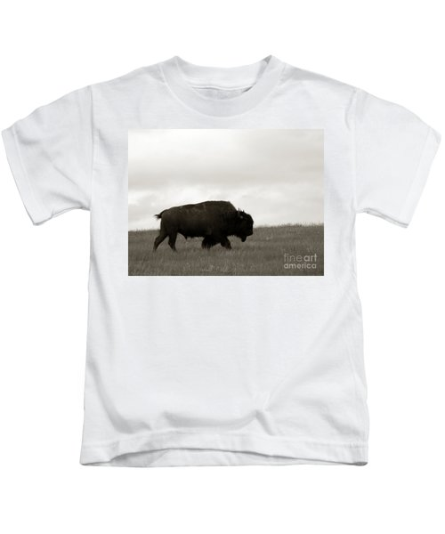 Lone Bison Kids T-Shirt