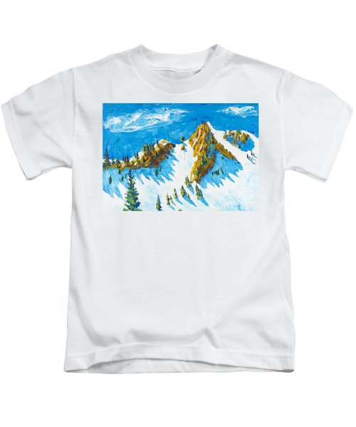 Lone Tree 1 Kids T-Shirt