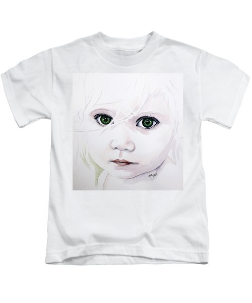Longing Eyes Kids T-Shirt
