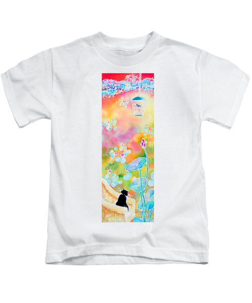 Lotus Pond Kids T-Shirt