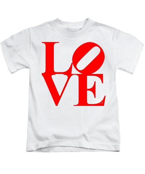 Love 20130707 Red White Kids T-Shirt