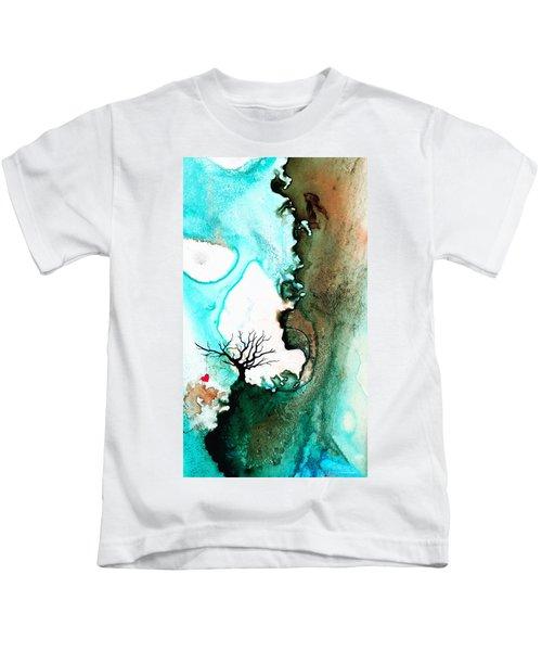 Love Has No Fear - Art By Sharon Cummings Kids T-Shirt