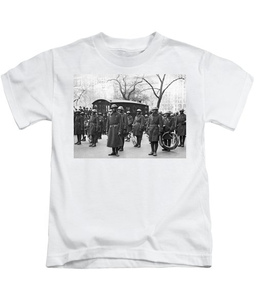 Lt. James Reese Europe's Band Kids T-Shirt by Underwood Archives