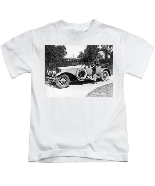 Mabel Normand In A Rolls Royce Kids T-Shirt