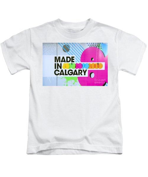 Made In Calgary Kids T-Shirt