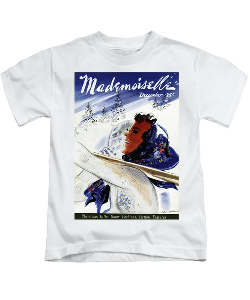 Mademoiselle Cover Featuring An Illustration Kids T-Shirt
