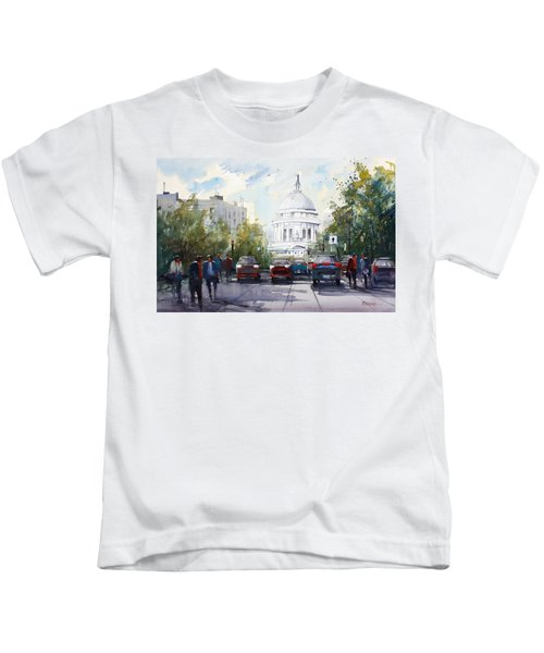 Madison - Capitol Kids T-Shirt by Ryan Radke