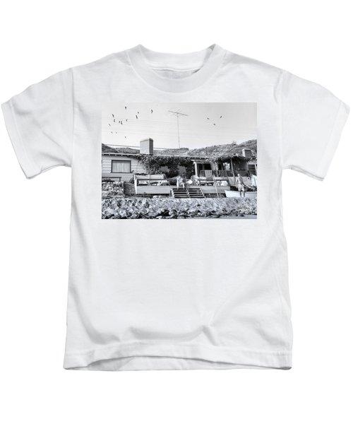 Malibu Beach House - 1960 Kids T-Shirt