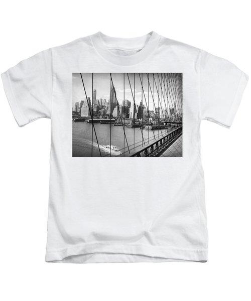 Manhattan Skyline Kids T-Shirt