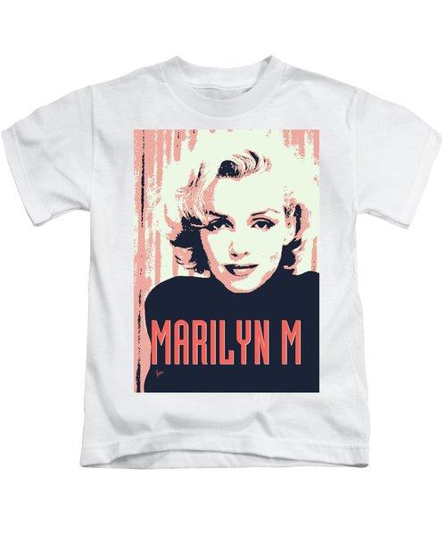 Marilyn M Kids T-Shirt