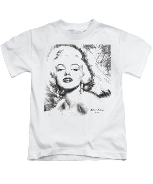 Marilyn Monroe - The One And Only  Kids T-Shirt
