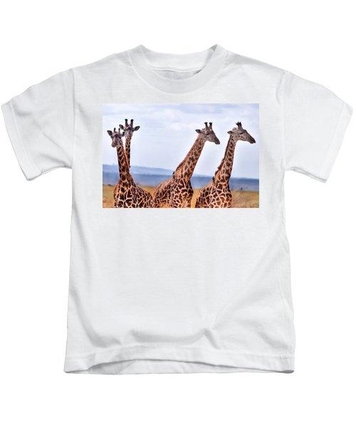 Masai Giraffe Kids T-Shirt