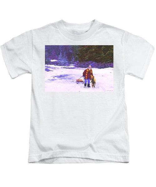 Me And My Buddy Kids T-Shirt