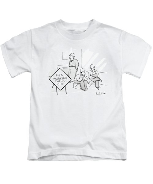 Men Working Things Kids T-Shirt