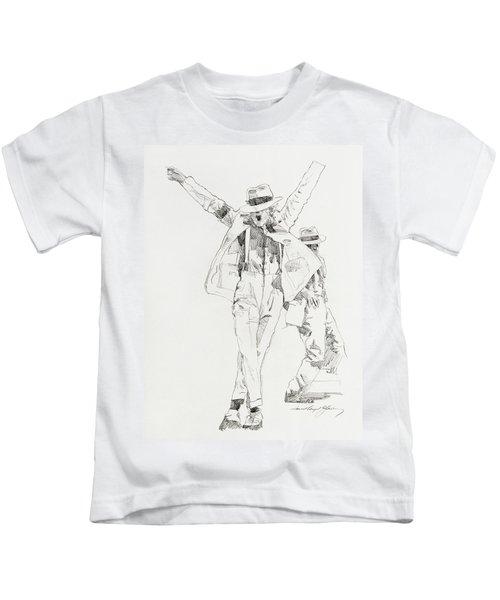 Michael Smooth Criminal Kids T-Shirt