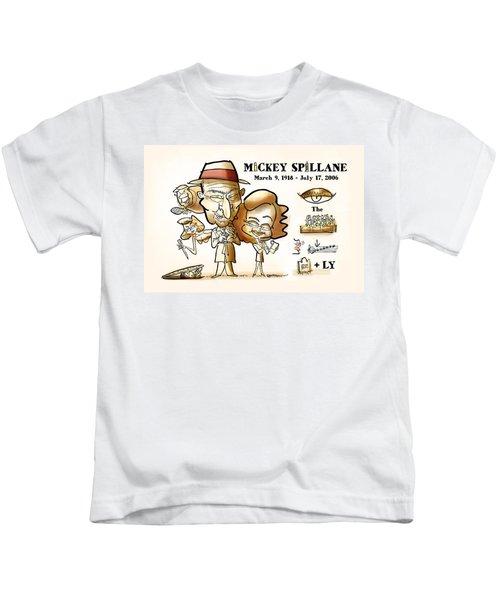 Mickey Spillane Kids T-Shirt