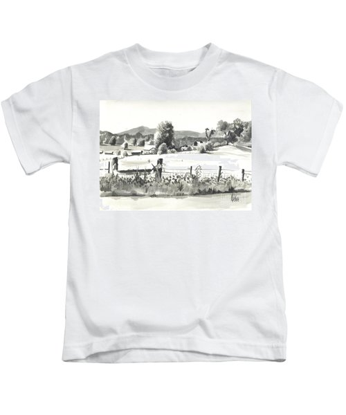 Midsummer View Out Route Jj   No I101 Kids T-Shirt