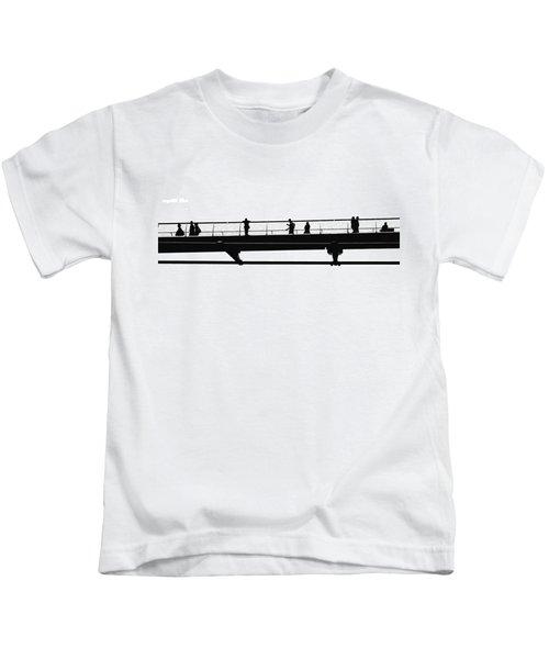 Milennium Bridge In London Kids T-Shirt