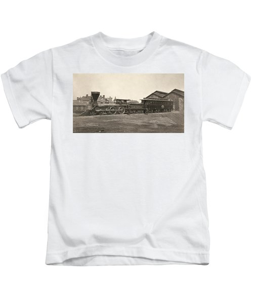 Military Locomotive, 1865 Kids T-Shirt