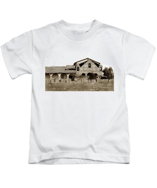 Mission San Antonio De Padua California Circa 1885 Kids T-Shirt