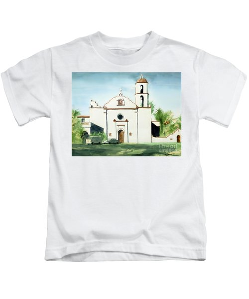 Mission San Luis Rey Colorful II Kids T-Shirt
