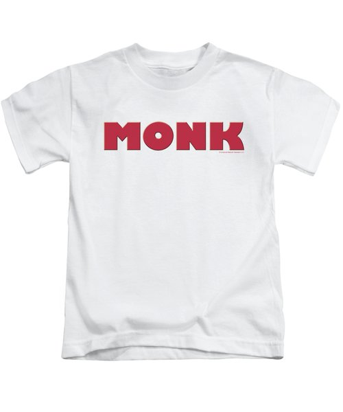 Monk - Logo Kids T-Shirt