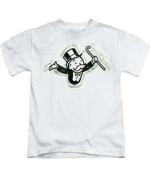 Monopoly Man Kids T-Shirt