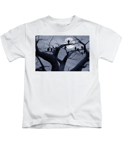 Moon Whisperer II Kids T-Shirt