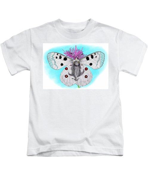 b2b5c826ee71bf Apollo Butterfly Kids T-Shirts | Fine Art America
