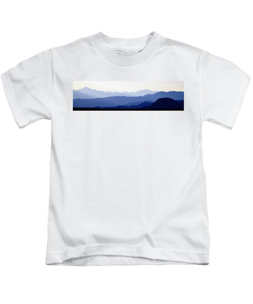 Mountain Silhouettes Kids T-Shirt
